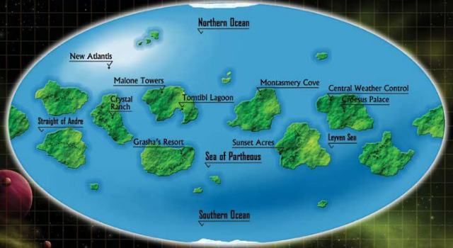 map of federation of planets - photo #40